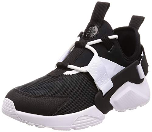 Nike Damen W Air Huarache City Low Fitnessschuhe, Schwarz (Black/White 002), 38 EU