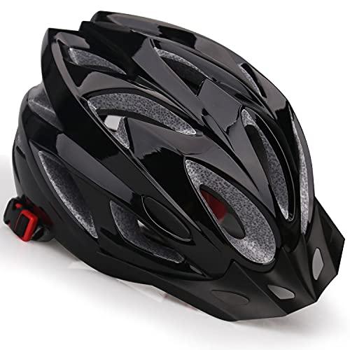 Casco de Bicicleta,KINGLEAD Casco Bicicleta Adulto Certificado CE Casco Bici para Hombre con Visera Desmontable Casco Bicicleta Mujer Casco de Ciclismo MTB Ajustable Casco Bici Montaña Adulto