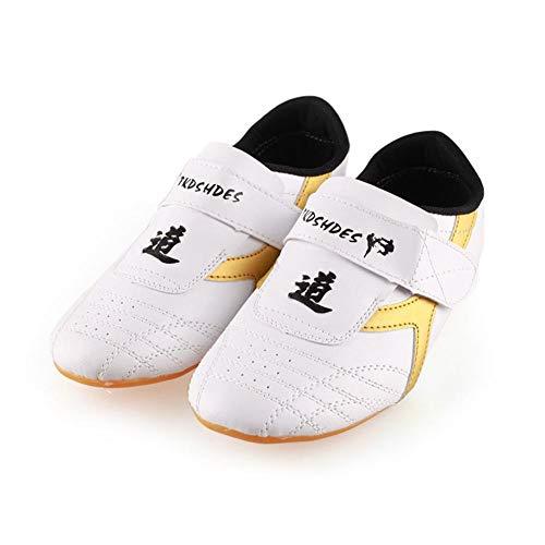 Dilwe Taekwondo Schuhe, PU Leder Weiche...