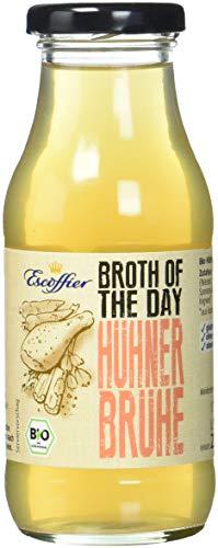 Escoffier Bio Hühnerbrühe mit Ingwer und Kurkuma, 5er Pack (5 x 235 ml)