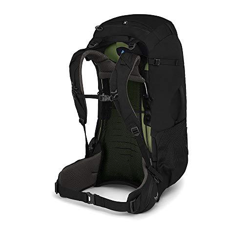 Osprey Farpoint Trek 55 Men's Travel Backpack, Black