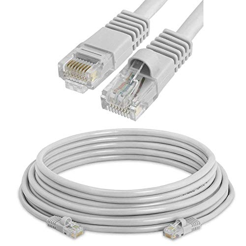 Price comparison product image NiceTQ 10FT CAT5E RJ45 Ethernet Network Cable Cord for Tenda MW6 Nova Wave 2 802.11AC,  Mu-Mimo Whole Home Wi-Fi Mesh System