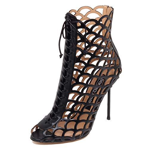 Sergio Rossi F6042 Decollete Donna Black Scarpe Tronchetto Shoe Woman [40]