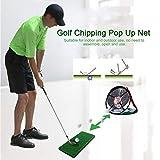 lembrd Golf Chipping Netz Pop Up Übungsnetz für Golf Indoor Outdoor Kurzspieltraining