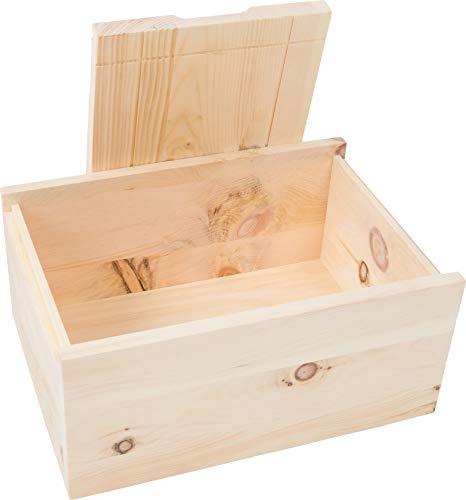 Tiroler Zirbenkissen Zirbenbrotbox 35cm x 24cm x 15cm handgefertigt in Österreich