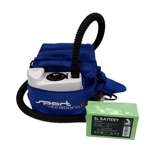 Sport Vibrations® Edition Kompressorpumpe Blei-Akku - SUP Elektro Pumpe - 2016