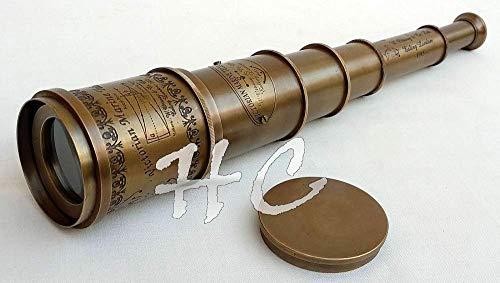 Desconocido Generic Victorian Marine Old Antique Telescope 1
