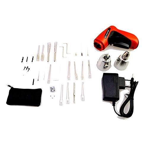 Kit de herramientas de cerrajero eléctrico inalámbrico con
