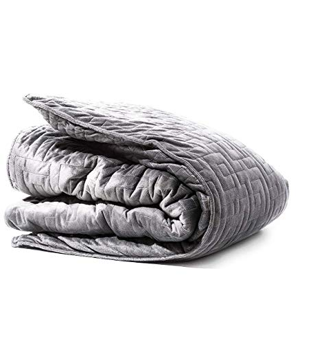 Tranquility 12lb Weighted Throw Blanket - Gray