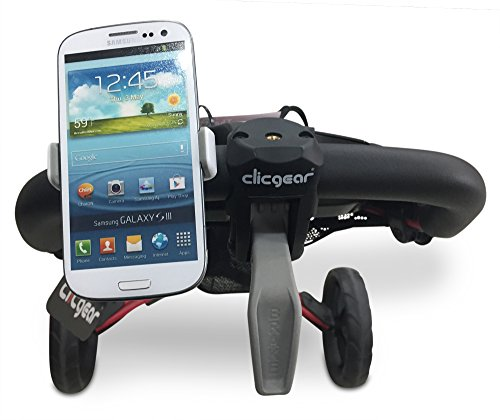 Fairway Golf Cart Phone Holder - fits All Phones (incl Plus Models) & All Popular Golf cart Brands Clicgear CaddyTek Bag Boy Triumph