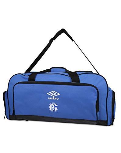 UMBRO FC Schalke 04 Large Holdall Sporttasche 20/21 blau weiß