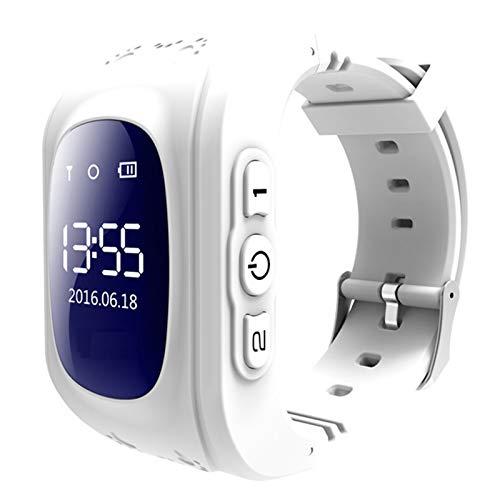 Kids Smart Watch SmartWatch Podómetro Reloj Deportivo Soporte Multi-Language, Reloj multifunción con Memoria Deportiva, Adecuado para niños,One