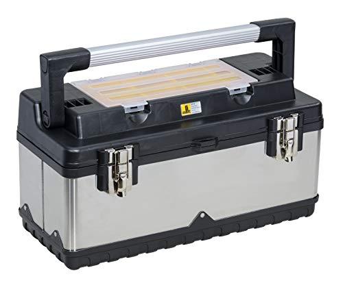 Allit 476410 McPlus Pro >M< 20 Profi-Werkzeugkoffer, silber, schwarz, 1 Stück