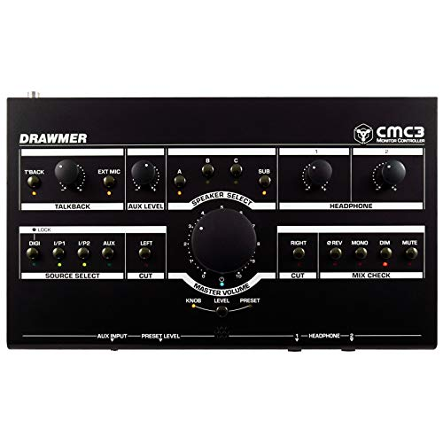 Sale!! Drawmer CMC3 Compact Monitor Controller