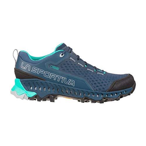 La Sportiva Spire Woman GTX, Chaussures de Trekking Femme, Opal/Aqua, 35 EU