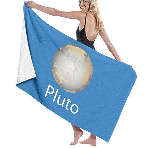 yuiytuo Toalla de baño,Juegos de Toallas Pluto Microfiber Beach Towel Quick Dry Outdoor Swim Blanket Yoga Mat