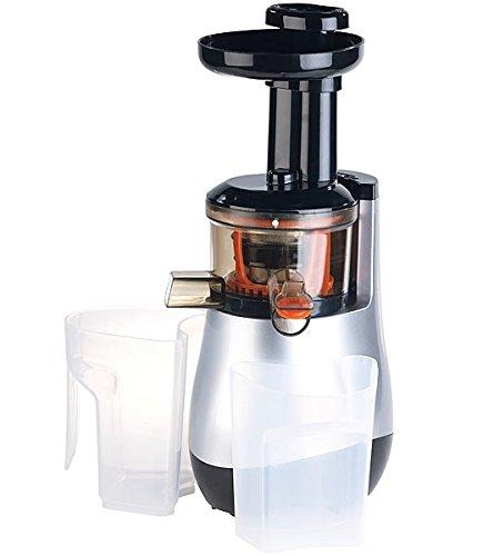 Rosenstein & Söhne Entsafter: Elektrischer Slow Juicer, 60 Umdrehungen/Min, leiser Motor, 150 Watt (Saftmaschine)