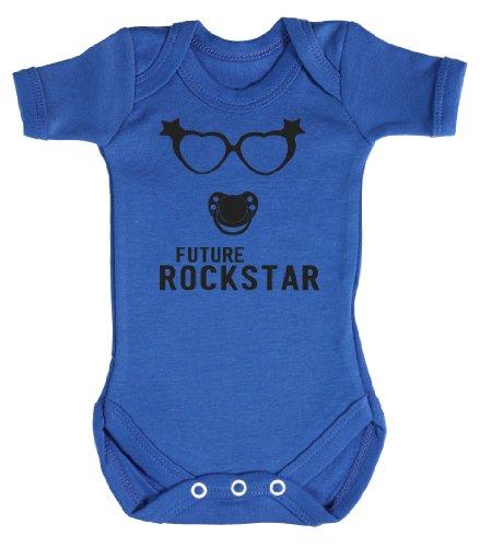 Baby Buddha - Future Rockstar Girl Body bébé Naissance Bleu