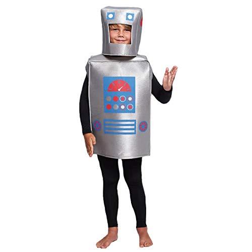 Disfraz Robot Retro Infantil (10-12 años) (+ Tallas) Carnaval Varios
