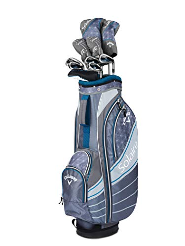 Callaway Golf 2018 Women's Solaire Complete 11 Piece Package Set (Blue, Right Hand)