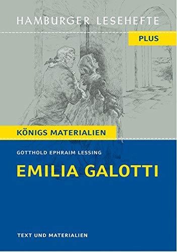 Emilia Galotti: Ein Trauerspiel in fünf Aufzügen (Hamburger Lesehefte PLUS)