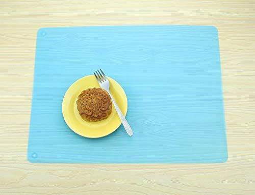 57 * 40 cm grote siliconen tafelmat deurmat bakplaat beste oven deurmat isolatieblok bakmateriaal en accessoires kinderen tafelmat deurmat warm@blauw