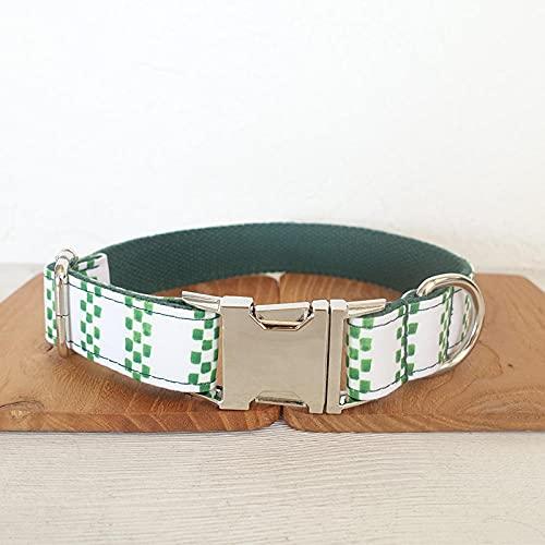 Conjunto deCollar para PerroNombre y número de teléfono Personalizados Collar de Perro de diseñadorGrabado-Free_Engraved_Collar_S