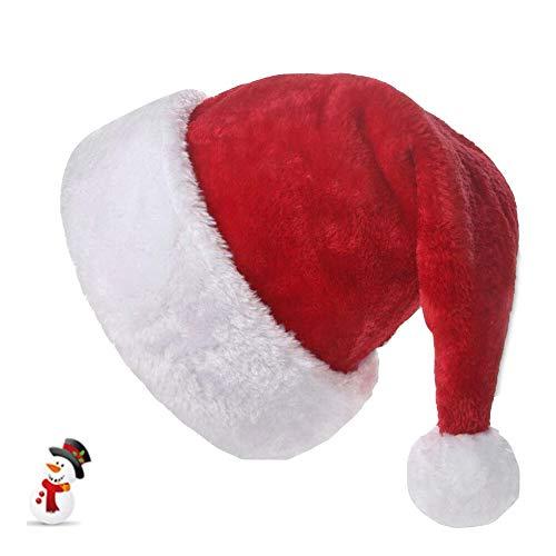 Gorro Navideño ,Gorro Navideño Aadulto ,Gorro Navideño Rrojo,Sombrero de Navidad de Felpa,Ggorro de Navidad para Niños,Gorro de Santa Claus (Adulto)
