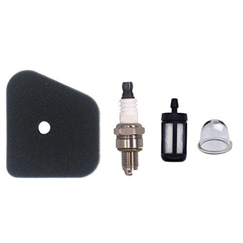 NIMTEK Air Filter Spark Plug Fuel Filter Primer Bulb for STIHL FS87 FS90 FS100 FS110 HT100 HT101 HL100 HL90 FC95 FC90 FC110 FC100 KM90 KM100 4180 120 0604 Trimmer