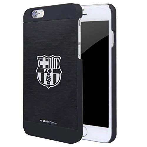 FC Barcelona - Carcasa / Funda para Apple iPhone 6 / 6S (4.7) , aluminio, color negro