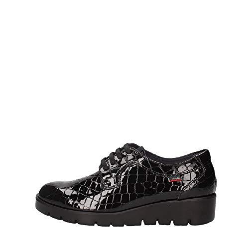 CALLAGHAN - Zapatos Cordones DE Piel para Mujer Color: Negro Talla: 40