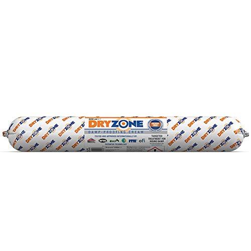 Dryzone Horizontalsperre Creme - Gegen Feuchte Wände und Aufsteigende Feuchtigkeit - WTA Zertifiziert (1x 600ml)