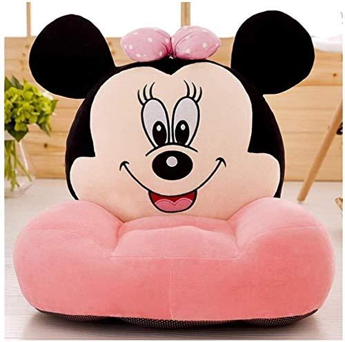 Dibujos animados de sofá para niños, sillones infantiles Habolos para niños CD Sofá pequeño Mickey Mouse Peluche Toys Toys Set Cómodo Sofá plegable suave Baby Stef Baby Asiento Cumpleaños Regalos de c