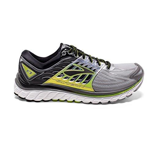 Brooks Glycerin 14 Running Sneaker Shoe - Silver/Lime -...