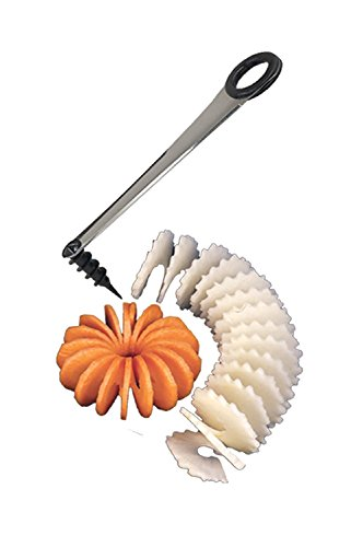 Chef Harvey Spiral Slicer, Stainless Steel Blade, For Easy Spiral Garnishes