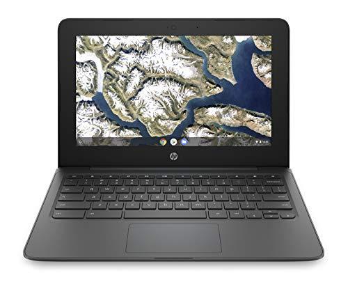 HP - PC Chromebook 11a-nb0001nl Notebook, Intel Celeron N3350, RAM 4 GB, eMMC 32 GB, Grafica Intel HD 500, Sistema Operativo Chrome OS, Google Play Store, Schermo 11.6  HD SVA, USB-C, Grigio [CB]