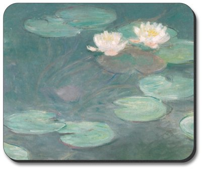 Monet: Water Lilies (Close-Up) - Art Plates Brand Mouse Pad