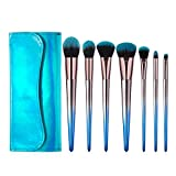 GO-AHEAD Make up Pinsel Set Make-up-Pinsel 7pcs / Set Super Soft Synthetisches Haar Powder Kit...