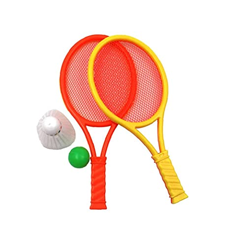 Juguetes Raqueta de Tenis de la Playa de la Raqueta de bádminton Raqueta de bádminton Conjunto portátil de Productos al Aire Libre de la Raqueta de bádminton 1 Juego Infantil