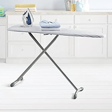 Real Simple Ironing Board Made of Sturdy Steel, 15 W x 54 L, Gray