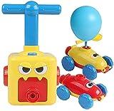 Inertial Power Balloon Car,Inflatable Balloon Pump Hand Push Mini Plastic Air Power Balloon