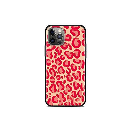 Leopard Print - Carcasa para iPhone 11 Pro 12 Mini XR X 7 8 6 6S Plus XS Max 5 5S SE 2020 Cover TPU Shell -B11-for iPhone XS