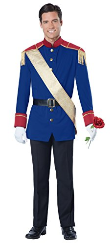 California Costumes Men's Storybook Prince Costume, Blue/Red, Large
