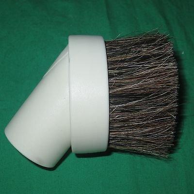 Electric Vac LLC Blanco 1 1/4' Universal Pelo del Caballo del Cepillo del Polvo Fit 1,25' Herramienta Accesorio de aspiradora