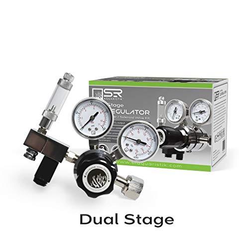 SR Aquaristik Dual Stage CO2 Regulator