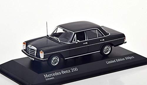 Minichamps Mercedes-Benz 200D (W114/115), año de construcción 1968, negro, escala 1:43.