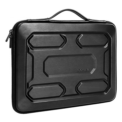 Protective Hard Shell Laptop Sleeve Bag With Handle For 13' 14' 15.6' 17' Inch Notebook Bag Shockproof Computer Bag (Color : Black, Size : 14 inch)