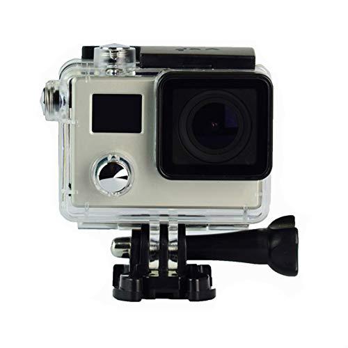 CYYMY Action Cam 1080p,Hyper Stabilizzazione Videocamera, Anti Shake Elettronico,Supporta Le Riprese Time Lapse,Fotocamera Impermeabile,per Nuoto,Surf E Immersioni, ECC,3