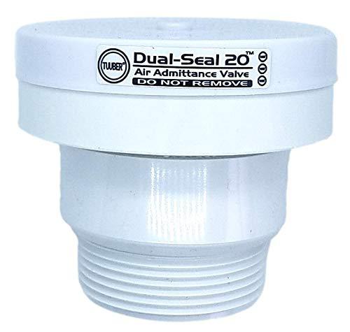 1-1/2 inch Tuuber Vent 2x Superior Seal Air Admittance Valve (Drain Vent Valve)