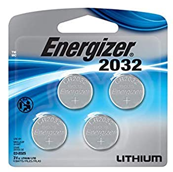 Energizer Watch/Electronic Batteries 3 Volts 2032 4  2x2  Batteries  Lithium Button Cell